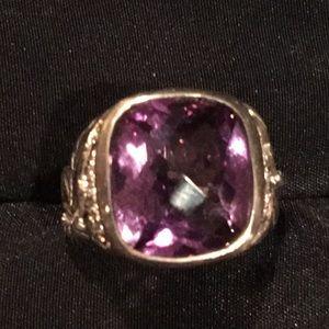 SeidenGang amethyst ring